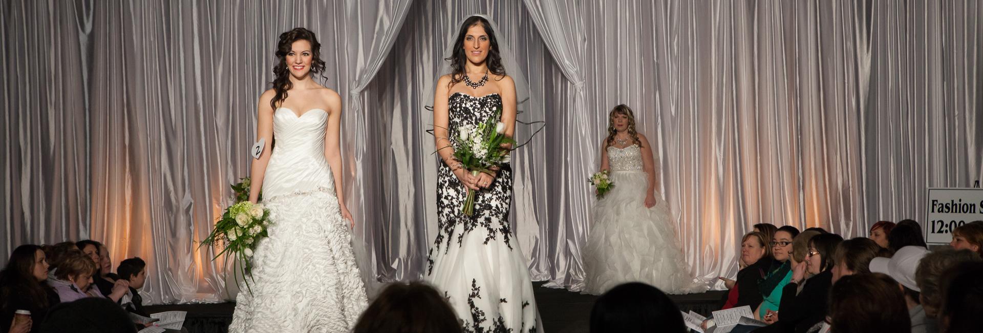 Fashion show at the Oregon Wedding Showcase in Salem, OR