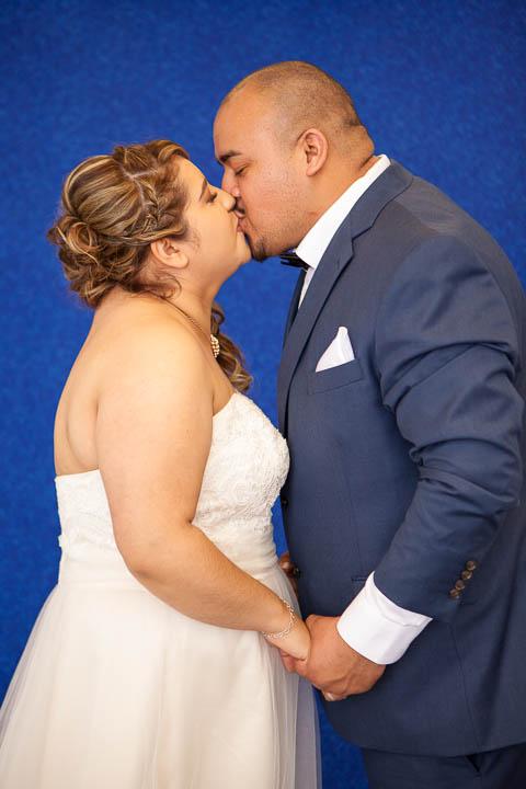 Wedding couple indoor portrait - Photos By Orion