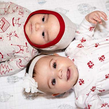 Cousins pose together in this Baby Portrait by Photos By Orion in Salem, Oregon