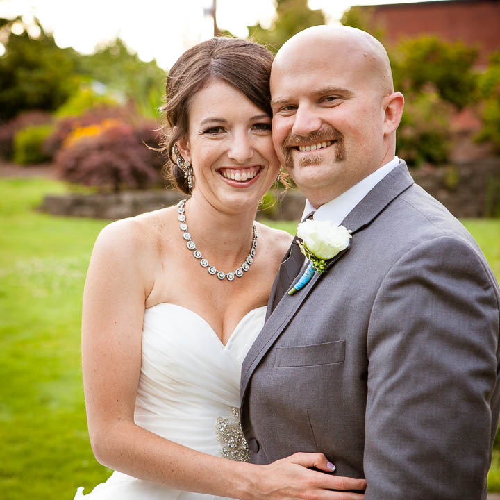 Wedding portrait in Silverton Oregon